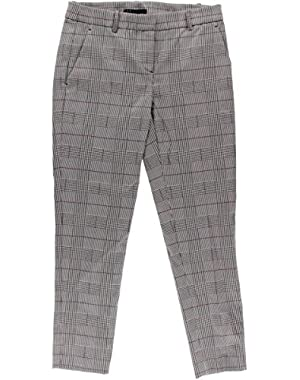 Theory Womens Treeca CL Twill Plaid Chino Pants