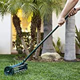 Best Choice Products 18-inch Rolling Lawn Aerator