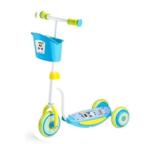 WYQ Scooter para niños pequeños, Altura del Manillar ...