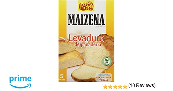Maizena - Levadura Panadería, 27,5 g