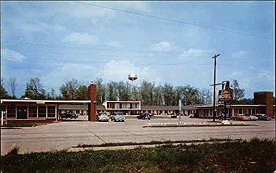 7 Gables Motel and Restaurant Burnside, Kentucky Original Vintage Postcard