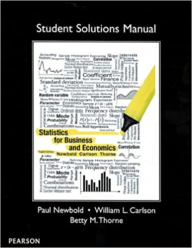 Amazon student solutions manual for statistics for business and student solutions manual for statistics for business and economics 1st edition fandeluxe Choice Image