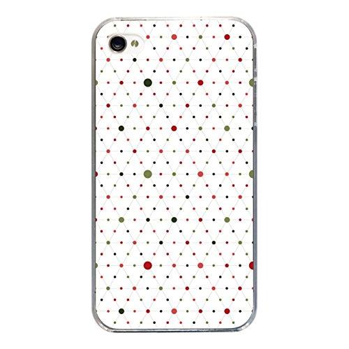 """Disagu SF-sdi-3814_1178#zub_cc2455 Design Schutzhülle für Apple iPhone 4 - Motiv """"Bunte Punkte 05"""""""