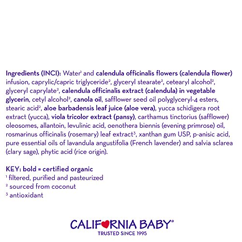 California Baby Calendula Cream - 4 oz - 2 pk by California Baby (Image #5)