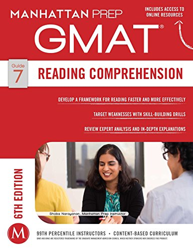 GMAT Reading Comprehension (Manhattan Prep GMAT Strategy Guides)