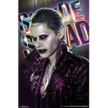 """Trends International Suicide Squad Joker Up Close Wall Poster 22.375"""" x 34"""""""
