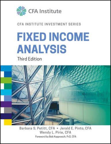 Fixed Income Analysis PDF ePub fb2 ebook