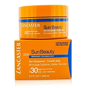 Lancaster by Lancaster Sun Beauty Tan Deepener Tinted Jelly SPF 30 200ml/6.7oz for WOMEN (Package Of 6)