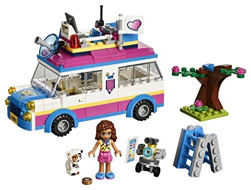 Amazoncom Lego Friends Olivias Mission Vehicle 41333 Building Set