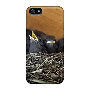 Awesome Case Cover/iphone 5/5s Defender Case Cover(baby Birds Being Fed)