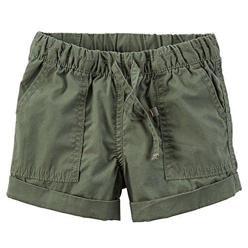 Carters Little Girls Poplin Shorts