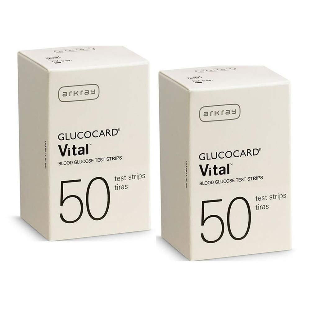 Arkray Glucocard Vital Test Strips, 100 Count