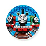 """American Greetings Thomas & Friends 7"""" Round Plate (8 Count)"""