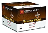 Copper Moon Single Cups for Keurig K-Cup Brewers French Roast 40 Count Hot Beverage Cups, Compatible with Most Single-Serve Brewing Systems that Accept K-Cups, Including Keurig 2.0