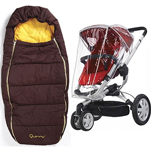 Quinny Buzz Footmuff With Buzz Weathershield in Gold by Quinny