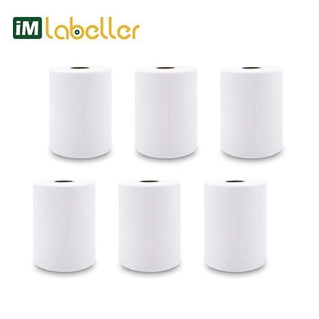 Amazon.com: iMlabeller Zebra - Rollo de etiquetas térmicas ...