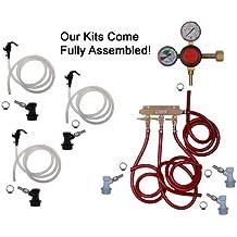 3 Keg Basic Keg Kit, Premium Kit, Ball Lock by Kegconnection