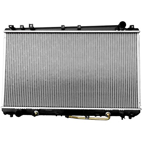 (ECCPP New Aluminum Radiator 2324 Replacement fit for 2000-2004 Toyota Avalon XLS 58 in Thickness with Warranty)