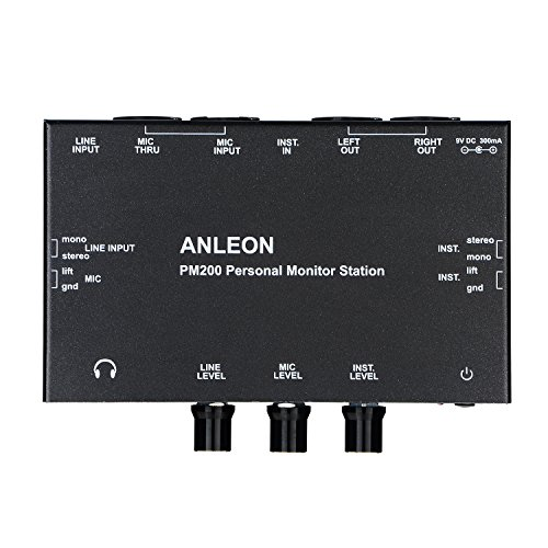 ANLEON PM200 Personal Monitor Station Multi-Channel Mixer stage monitor by ANLEON