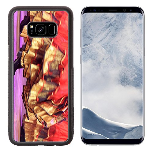 Detective Costume Images (Liili Premium Samsung Galaxy S8 Plus Aluminum Backplate Bumper Snap Case red skirt on the stage closeup of photo 28008871)