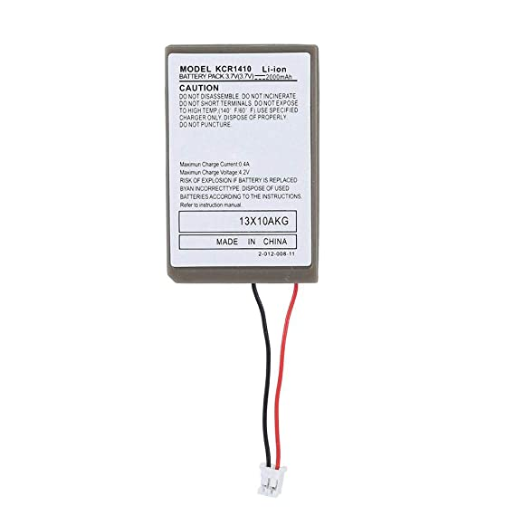 Amazon.com: Zopsc 2000mA Rechargeable Battery for PS4 Game Controller with USB Cable, Long Service Life: Electronics