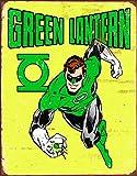 Desperate Enterprises Green Lantern - Retro Tin Sign, 12.5' W x 16' H