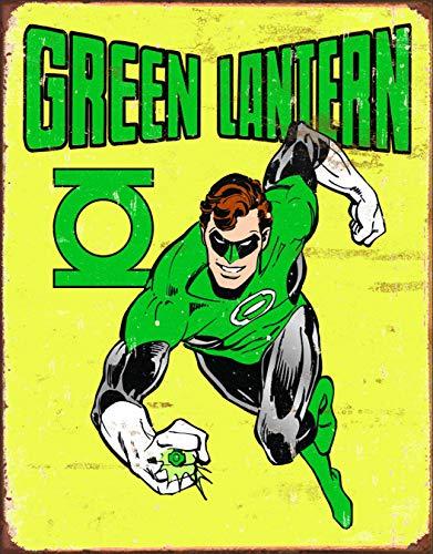 (Desperate Enterprises Green Lantern - Retro Tin Sign, 12.5