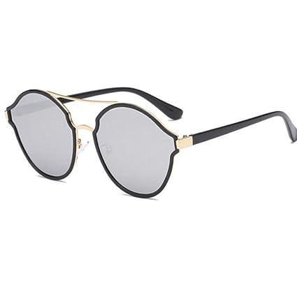 BiuTeFang Gafas de Sol Mujer Hombre Polarizadas de Mujer Tendencia Brillante Color Gafas de Sol Gafas