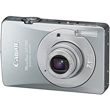 Canon PowerShot SD750 7.1MP Digital Elph Camera with 3x Optical Zoom (Silver) (OLD MODEL)