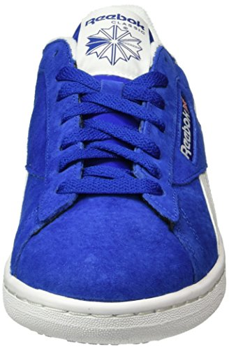 Reebok Herren NPC UK Retro Low-Top Blau (Collegiate Royal/White)