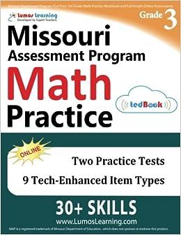 Missouri Assessment Program Test Prep 3rd Grade Math Practice
