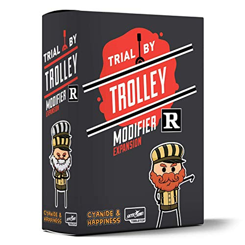 Skybound Games - Trial by Trolley: R Rated Modifier Expansion - Board Game