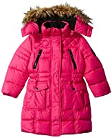 Weatherproof Girls' Toddler Outerwear Jacket (More Styles Available), Down Bubble-WG180-Red, 2T