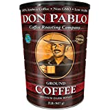 2LB Don Pablo Signature Blend - Drip Ground Coffee - Medium-Dark Roast (2LB Collectable Can)