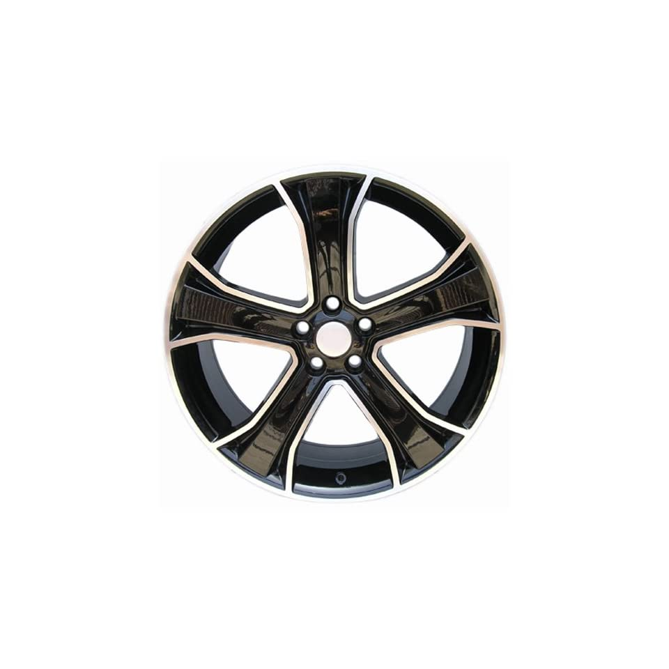Sportrak   None OEM Land Rover Range Rover Wheels Rims Gloss Black Machine Face (Set of 4 Wheels) 22x9.5
