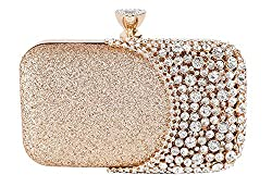 Women's Crystal Clutch Bag For Wedding and Prom