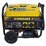 Firman Power Equipment P03603 3650/4550W Remote Start Generator with Wheel Kit