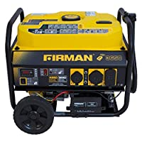 Firman Power Equipment P03603 3650/4550W Remote Start Generator with Wheel Kit