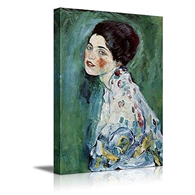 Portrait of a Lady by Gustav Klimt Austrian Symbolist Painter