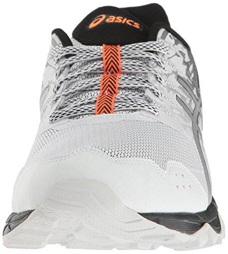 Gel Vif Blanc Argent Pour Trail Course De Chaussures Asics Hommes 3 Orange sonoma qOAngEw