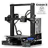 SainSmart x Creality Ender-3 3D Printer, Resume Printing V-Slot Prusa i3 Home & School Use, Build Volume 8.7'' x 8.7'' x 9.8''