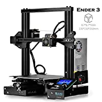 "SainSmart x Creality Ender-3 3D Printer, Resume Printing V-Slot Prusa i3 Home & School Use, Build Volume 8.7"" x 8.7"" x 9.8"""