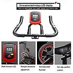 KEEPALY-Spin-Bike-Professionale-Ergometro-Regolatore-di-Velocita-Sedile-E-Manubrio-Regolabili-Display-Sensori-delle-Pulsazioni-Bicicletta-da-Camera-Bici-da-Fitness