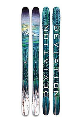 Deviation Ski & Snowboard Works The Ellipse 159 Downhill Skis