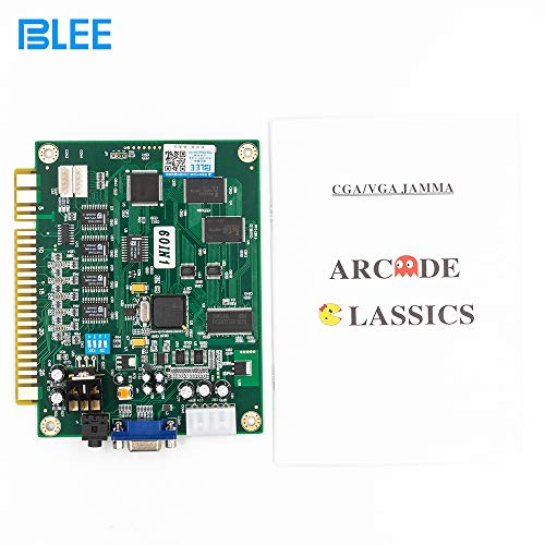 BLEE Classical Arcade Video Game 60 in 1 PCB Jamma Board for CGA VGA Output