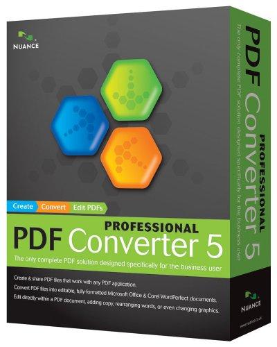Buy Oem Nuance Pdf Converter Professional 5