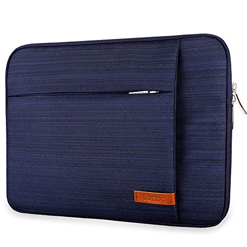 Lacdo 15 Inch Water Resistant Laptop Sleeve Case for 16-inch New MacBook Pro 2019 A2141 | 15