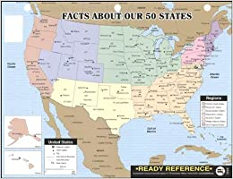 Facts about Our 50 States Ready Reference, Grades 4 - 7