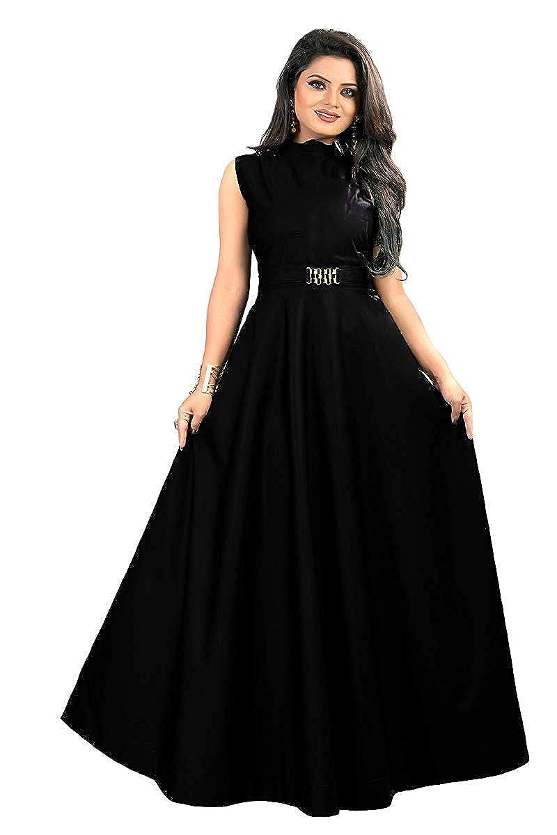 vaidehi creation Women's Twill Tafeta Gown