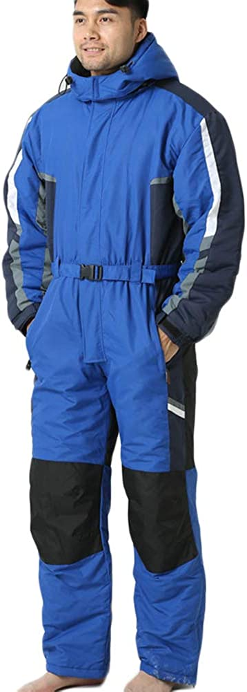 ZXY Damen Snowboard Skisuit Einteiliger Ski-Overall Hoodie Winter Warme Schnee Skianz/üge Outdoor Sports Schneeanzug Ski Anzug mit Rei/ßverschluss